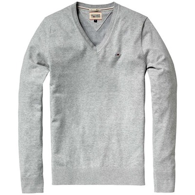 HILFIGER DENIM Timber - Pull - gris chiné