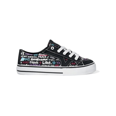 VANS Tory - Baskets - noir et multicolore