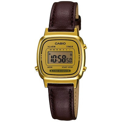 Casio Collection - Style : ville - marron
