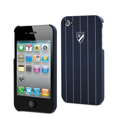 Coque rigide - iPhone 4/4S bleu marine