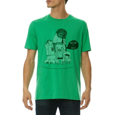 MONSIEUR POULET Nuclear is Fun! - T-shirt - vert