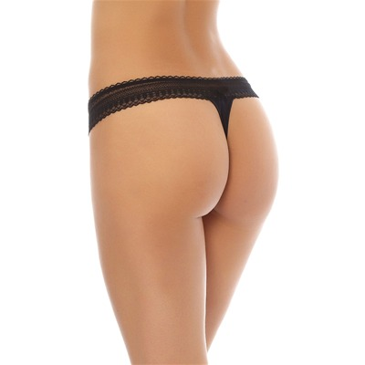 WACOAL Party - Tanga - Noir