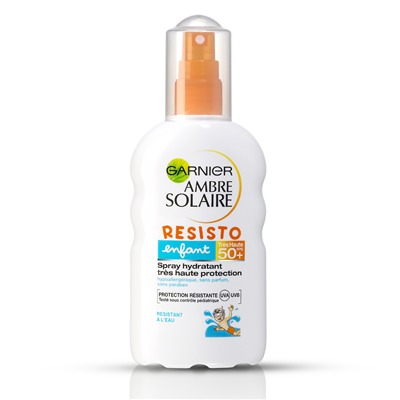 Garnier Ambre solaire spray resisto fps 50+ - protection solaire - blanc