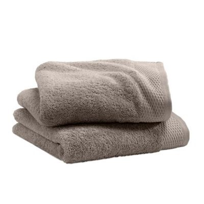 ifilhome cosy serviette de bain 600g m taupe brandalley. Black Bedroom Furniture Sets. Home Design Ideas