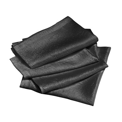 Lot de 4 serviettes de table - anthracite