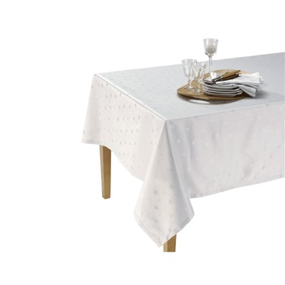 IFILHOME Cassiopée - Nappe - argent