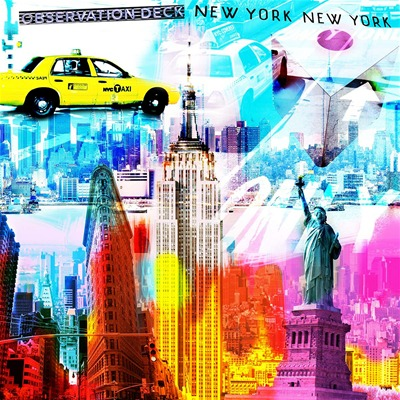 New York Color - Tableau - ©Actua Concept