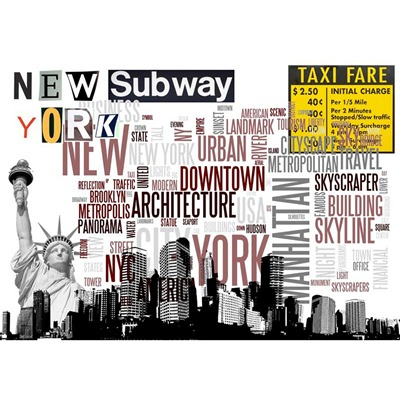 ARTMOSPHERE New York City 3 - Tableau - - ©Actua Concept