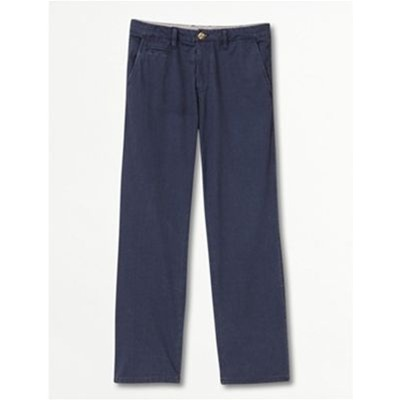 Somewhere Pantalon droit - bleu marine