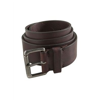 SOMEWHERE Ceinture - en cuir caramel