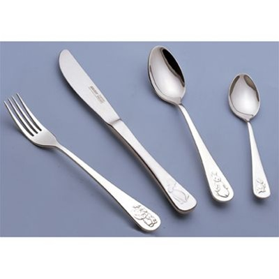 BERGHOFF Baby Set - Baby Set 4 pièces - argent