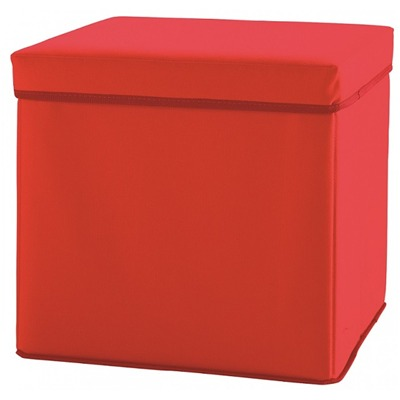 SOMEO Someo - Pouf table de nuit - rouge