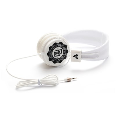 RUGBY DIVISION Casque audio - blanc