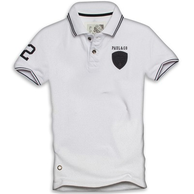 PAUL STRAGAS Polo - blanc