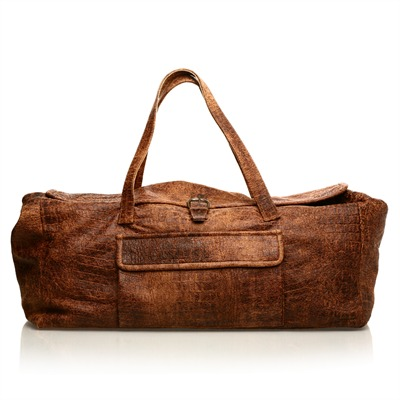 JEKEL Week End - Sac - en peau Jekel marron 32x22x60cm