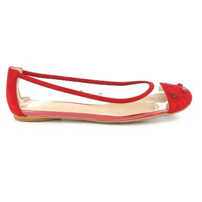 JA11110 - Ballerines - rouges