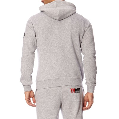 YMCMB Sweat à capuche - gris chiné