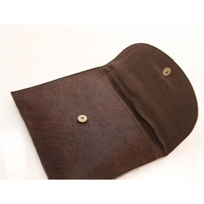 Pochette mini tablette - marron