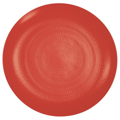 GUY DEGRENNE Modulo Nature Tomette - Lot de 3 assiettes de présentation - rouge