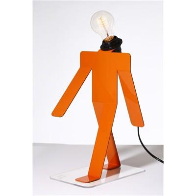 THOMAS DE LUSSAC Moonwalk - Lampe - orange