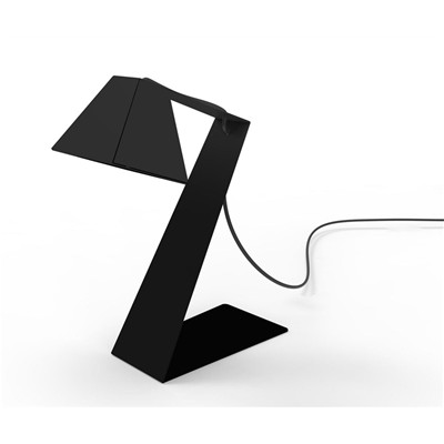 THOMAS DE LUSSAC Big Zlight - Lampe de bureau design - noire