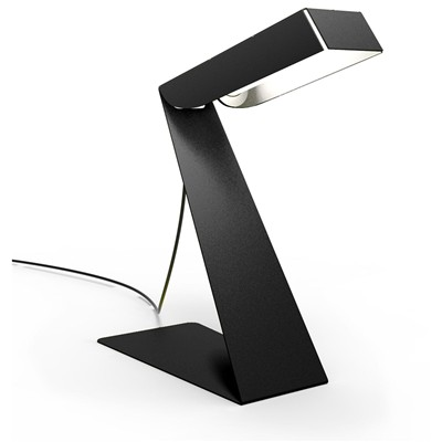 THOMAS DE LUSSAC Small Zlight - Lampe de bureau design - noire