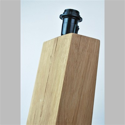 OPEN DESIGN Totem No 004 - Lampe de table design en bois - beige