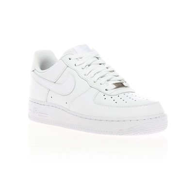 Air Force 1 - Sneakers en cuir mélangé - blanc