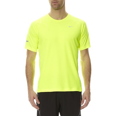 Miler SS UV (Team) - T-shirt - jaune fluo