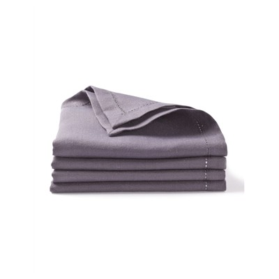 CYRILLUS Lot de 4 serviettes de table - ardoise