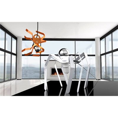 THOMAS DE LUSSAC Spiderlight - Lampe design - blanche