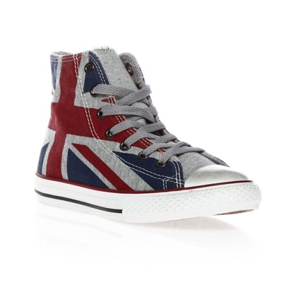 Ctas UK - Sneakers - bleu, gris et rouge