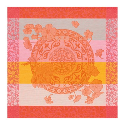 Le Jacquard français fleurs gourmandes - serviette de table - orange