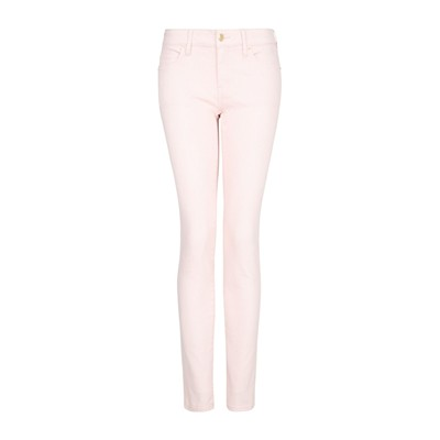 MANGO Paty - Jean super slim - rose clair