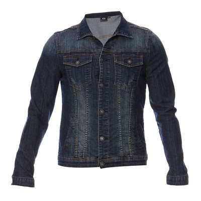 BEST MOUNTAIN Veste en jean - denim bleu