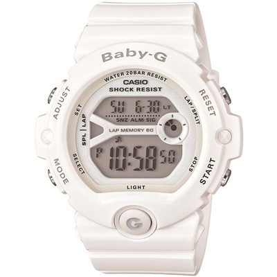 Casio Baby-G - montre digitale - blanc