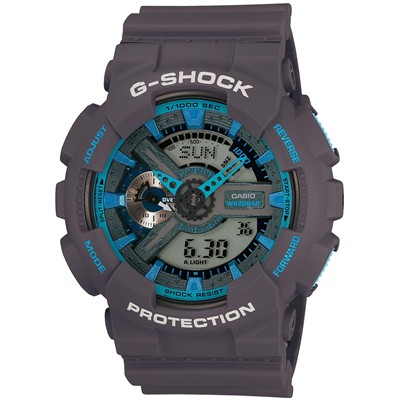 Casio G-Shock - Type : chrono - violet