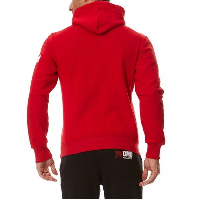 YMCMB Sweat à capuche - rouge