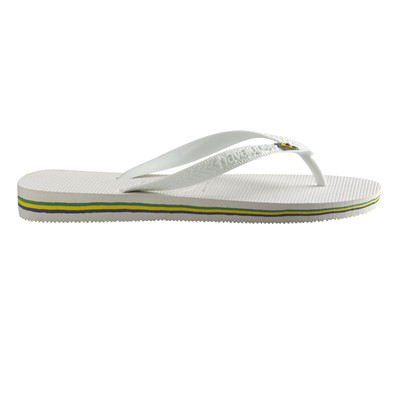 HAVAIANAS Brasil - Tongs - blanches