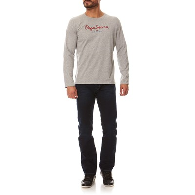 PEPE JEANS LONDON Eggo - T-shirt - gris chiné