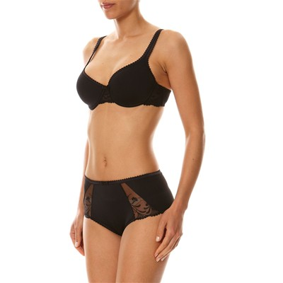 PLAYTEX Absolu rounded comfort décorated - Soutien-gorge - noir