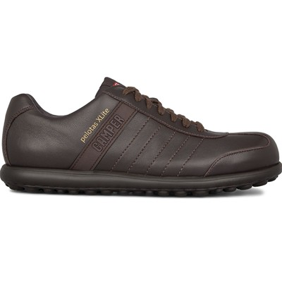 CAMPER Pelotas - Baskets - en cuir marron