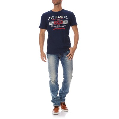 PEPE JEANS LONDON Men Edition - Jean droit - bleu clair
