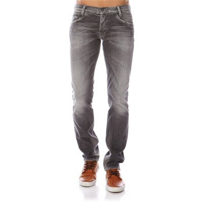 PEPE JEANS LONDON Spike - Jean slim - gris délavé