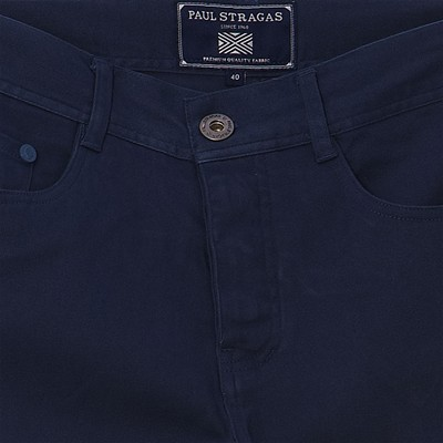 PAUL STRAGAS Pantalon - pétrole