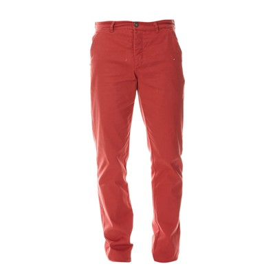 PAUL STRAGAS Pantalon chino - rouge