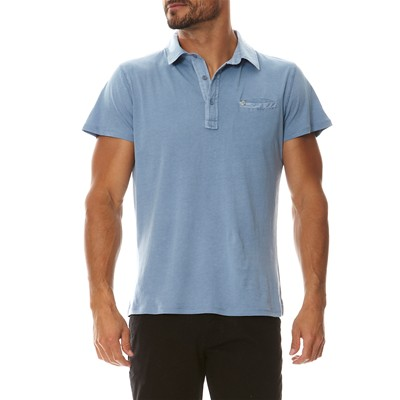 PAUL STRAGAS Polo - bleu