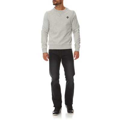 SCHOTT Sweat-shirt - gris chine