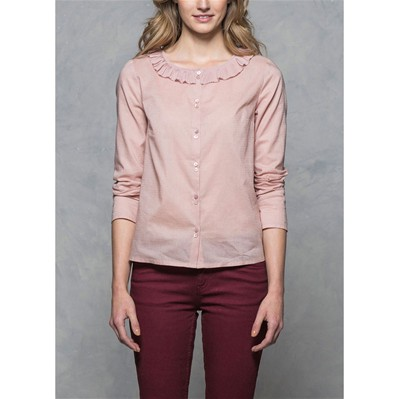 Blouse - rose clair