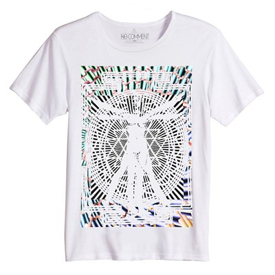 NO COMMENT PARIS T-shirt manches courtes - blanc